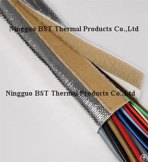 Aluminized Reflectsleeve Aluminum Coated Fiberglass Heat Shiled Sleeve