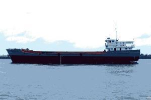 1620m3 split hopper barge