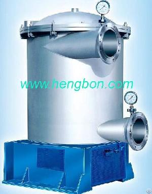 Inflow Pressure Screen For Pulp And Paper Machine, Pressuried Screen