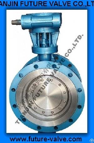 Triple Offset Flanged Butterfly Valve