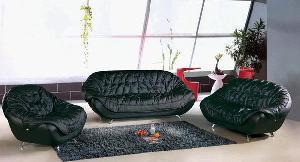sofa leather modern l sharp 2033