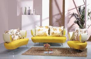 sofa living room furniture leather modern 801