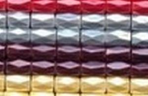 pearlized magnetic hematite bead