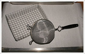 wire mesh processed