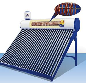 Integrated And Pressurized Solar Water Heater