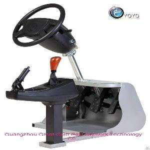 patented auto simulator game machine