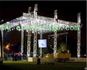 Aluminum Stage Lighting Truss Sytems
