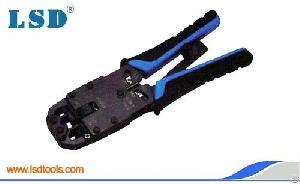 lt 200r modular plug connector crimping tool rj45