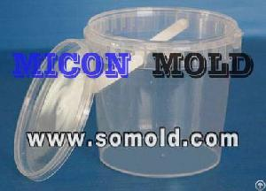 Plastic Thin Walled Injection Mould For Iml Molding Food Packaging