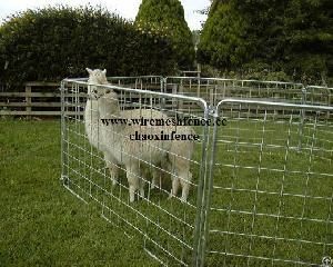 portable alpaca yards