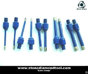 m12 thread wet core bit stone