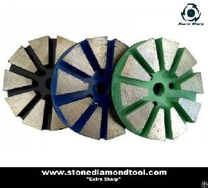 metal bond floor polishing pads stone