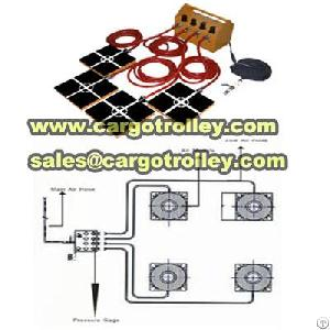 air powered moving dolly protect floor