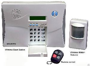 8 wired zones 30 wireless home alarm