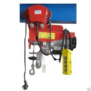Electric Wire Rope Hoists Pa