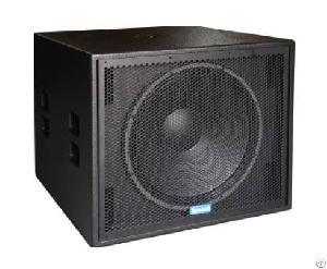 High Power Subwoofer System, Subwoofer Speaker, Sound Boxl, Loudspeaker Enclosure, Pro Audio, Xs 118