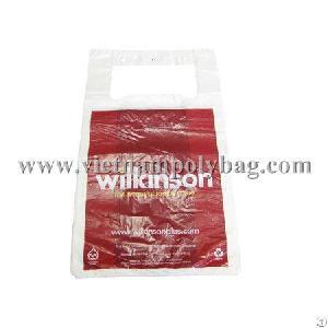 barblock vest handle plastic bag