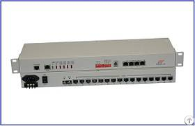 4e1 / 8e1 / 16e1 10 / 100m Fiber Optical Multiplexer