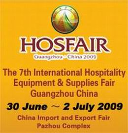 Famous Hospitality Markets Participate In Hosfair Guangzhou 2009