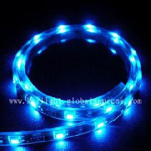 Led Strip Light, Waterproof Flexible Strip Light, With Various Singal Color And Rgb Color, Dc12v,