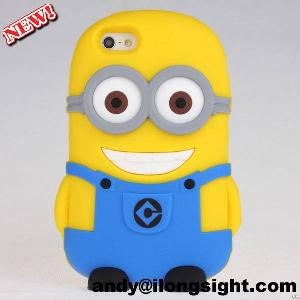 Sell 3d Despicable Me 2 Minions Soft Silicone Case Cover For Iphone 5