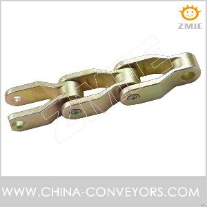 Cc600 Cast Chain Zinc Plated For Crate Or Steel Bottle Conveyor