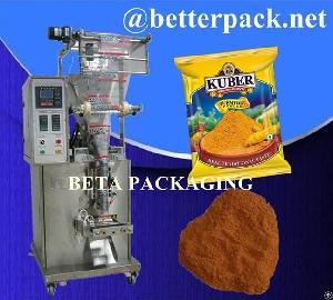 spice powder packets packaging machine