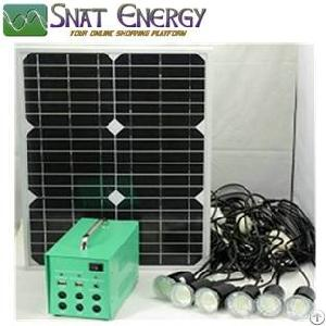 Mini Solar Home Use Lighting System 5w 10w 20w 30w Portable Backup Power Systems