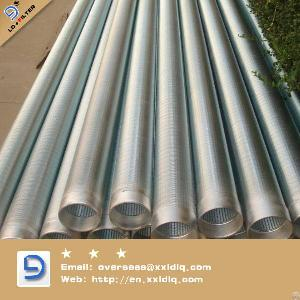 Wedge Wire Wrap Screen Pipe Stainless Steel 304l Lida Factory