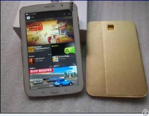 8inch Tablet Pc Phone Call Voice Call Sim Card Slot Tablet Pc 3g Gps Bluetooth Gold And White Color