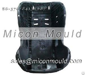 Injection Molded Plastic Car Safety Seat Mould