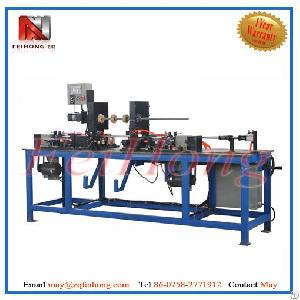 Roll Turning Machinery For Heater Tubular Cg50-plc Full Auto Double Ends Face Lathe