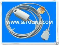 Masimo 14 Pin Adult Finger Clip Reusable Spo2 Sensor 3m Long Cable