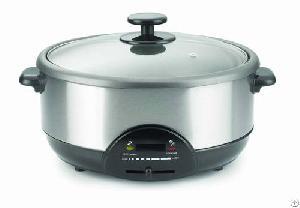 3 8liter 1600watt slow cooker