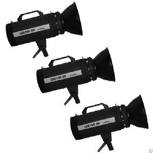 100wa daylight led studio 3 light kit pro 56 video lighting