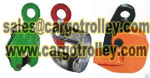 steel plate lifting clamps