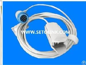 adult finger clip spo2 sensor artema 12 pin male