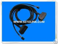 right angle flat obd cable