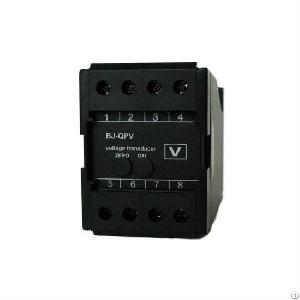 digital ac voltage transducer sensor din rail mounting
