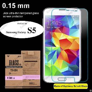 Factory Supply Japan Curved Edge 9h Anti Broken Tempered Glass Screen Protector For Samsung S5