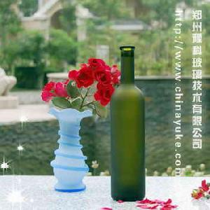 Grape Wine-bottle Glass Frosting Powder