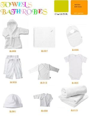 Terry Baby Hooded Towels, Baby Bibs, Plush Baby Blankets, Baby Slippers, Terry Baby Game Pads