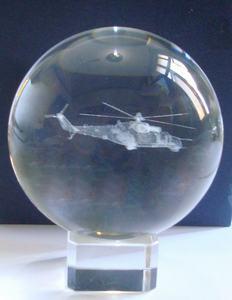 Crystal 3d Laser Sphere