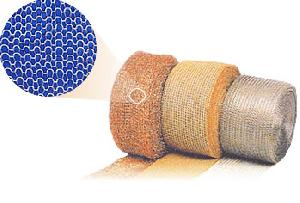 stainless steel knitted wire mesh filter