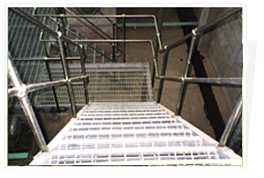 Steel Bar Grating In Stair Treads