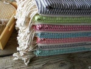 handwoven hammam towels