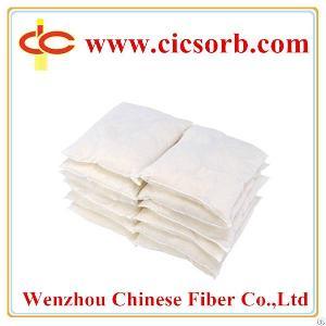 oil absorbent pillows