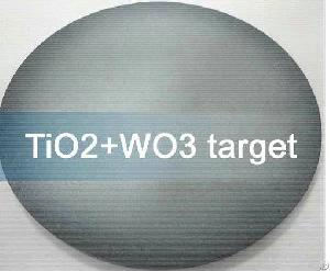 Tb4o7 Terbium Oxide , Tio2 Titanium Dioxide Sputtering Targets
