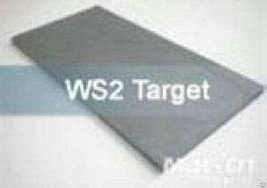 Ws2 Tungsten Disulfide , Wti Tungsten Titanium Ceramic Targets
