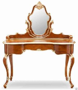 Dressing Table Dressers With Mirror Wooden Bedroom Furniture Itlian Style Fv-138